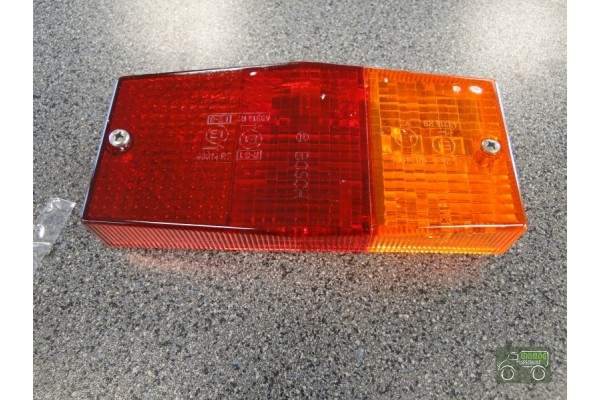 Rear light glass