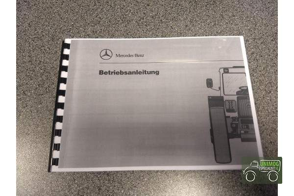 Handleiding MB-trac 443 Duits