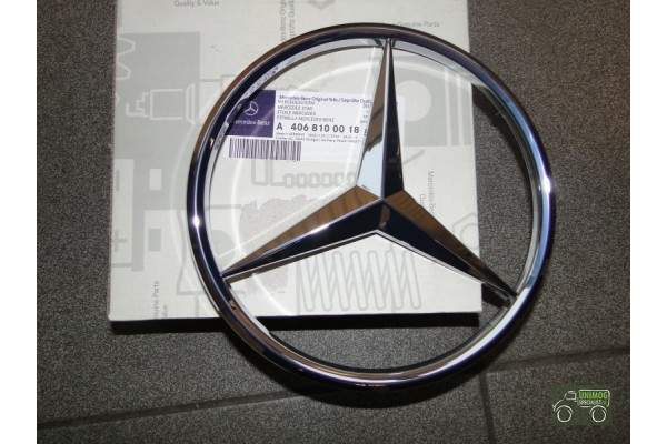 Mercedes badge 195mm